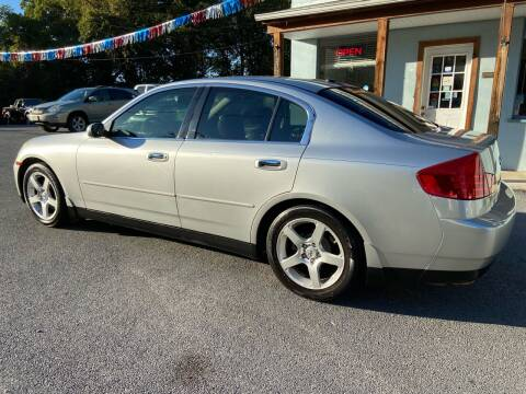 2004 Infiniti G35 for sale at Elite Auto Sales Inc in Front Royal VA