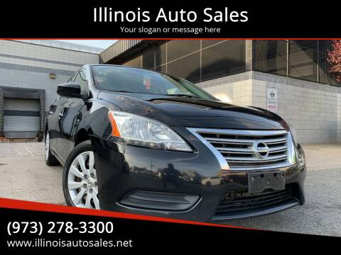 2013 Nissan Sentra for sale at Illinois Auto Sales in Paterson NJ