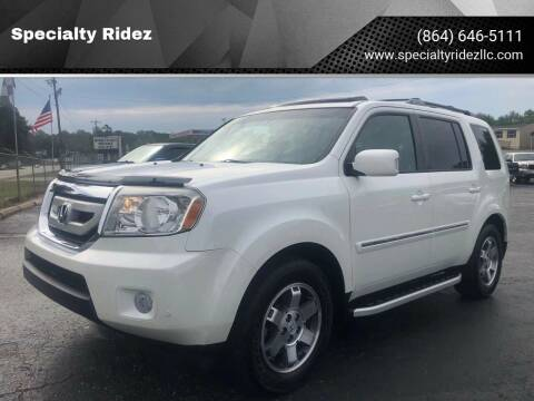 2011 Honda Pilot for sale at Specialty Ridez in Pendleton SC