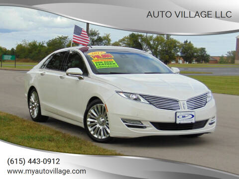 2013 Lincoln MKZ for sale at AUTO VILLAGE LLC in Lebanon TN