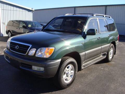 1998 Lexus LX 470 for sale at Driving Xcellence in Jeffersonville IN