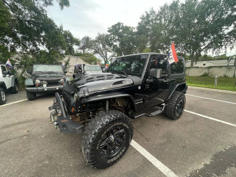 2011 Jeep Wrangler for sale at Bay City Autosales in Tampa FL
