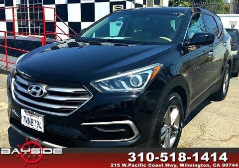 2017 Hyundai Santa Fe Sport for sale at BaySide Auto in Wilmington CA