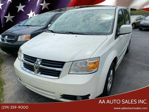 2010 Dodge Grand Caravan for sale at AA Auto Sales Inc. in Gary IN