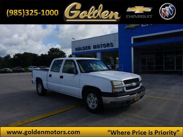 2005 Chevrolet Silverado 1500 for sale at GOLDEN MOTORS in Cut Off LA