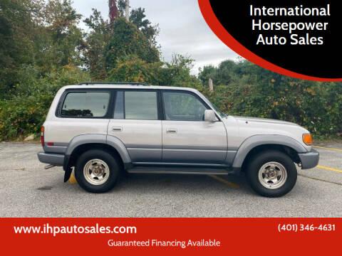 1996 Toyota Land Cruiser for sale at International Horsepower Auto Sales in Warwick RI