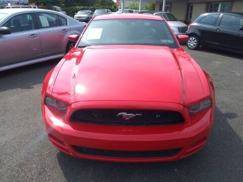 2013 Ford Mustang for sale at Wilson Investments LLC in Ewing NJ