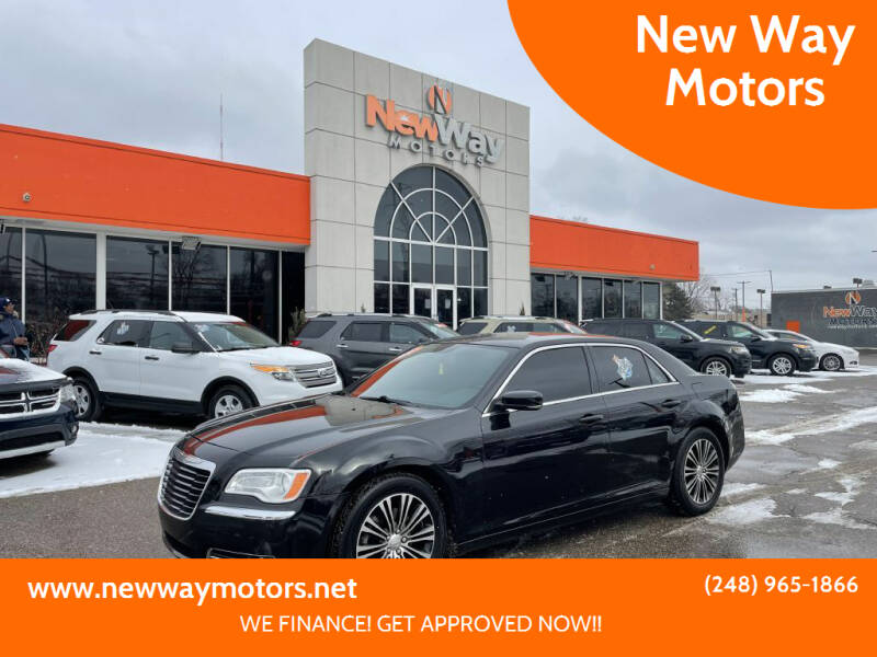 2012 Chrysler 300 for sale at New Way Motors in Ferndale MI