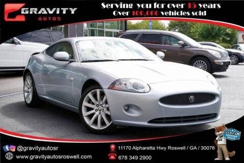 2008 Jaguar XK-Series for sale at Gravity Autos Roswell in Roswell GA