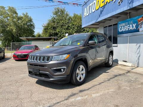 2018 Jeep Compass for sale at Autodealz of Fresno in Fresno CA