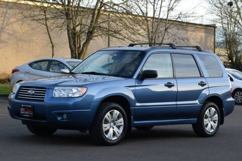 2008 Subaru Forester for sale at Beaverton Auto Wholesale LLC in Aloha OR