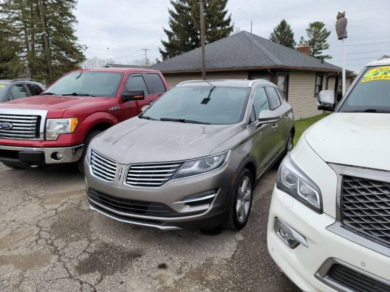 2016 Lincoln MKC for sale at Clare Auto Sales, Inc. in Clare MI