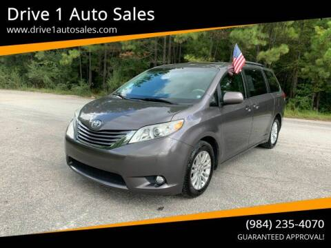 2013 Toyota Sienna for sale at Drive 1 Auto Sales in Wake Forest NC