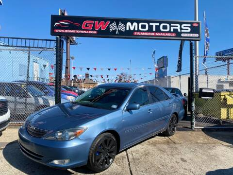 2002 Toyota Camry for sale at GW MOTORS in Newark NJ