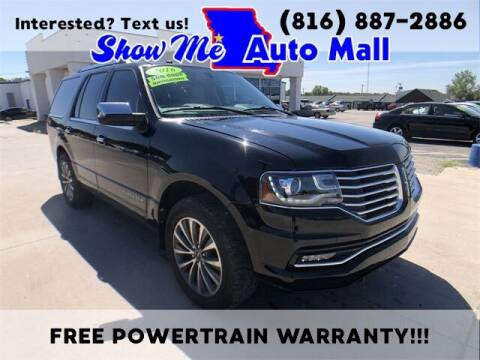 2016 Lincoln Navigator for sale at Show Me Auto Mall in Harrisonville MO