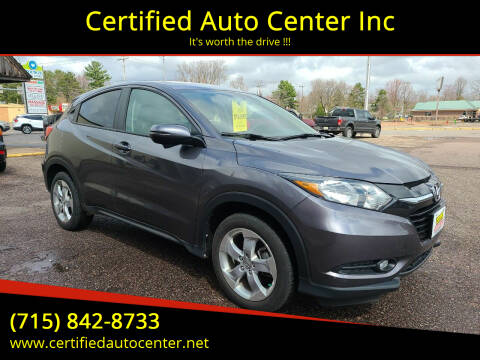 2016 Honda HR-V for sale at Certified Auto Center Inc in Wausau WI