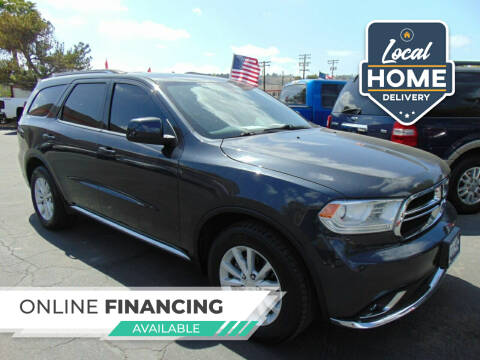 2015 Dodge Durango for sale at So Cal Performance in San Diego CA