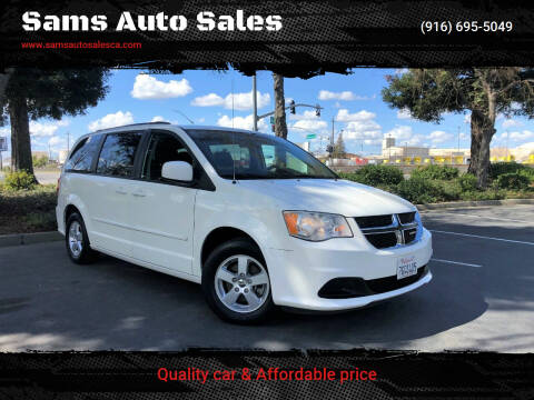 2012 Dodge Grand Caravan for sale at Sams Auto Sales in North Highlands CA