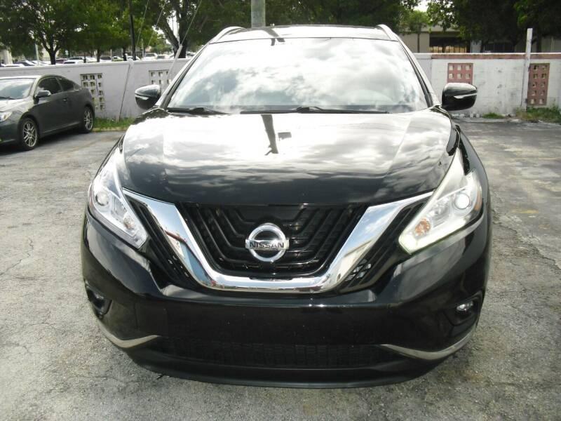 2015 Nissan Murano for sale at SUPERAUTO AUTO SALES INC in Hialeah FL