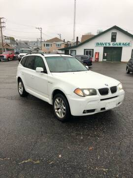 2006 BMW X3 for sale at Dave's Garage Inc in Hampton Beach NH