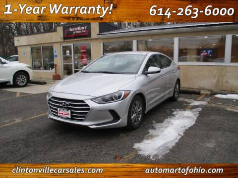 2017 Hyundai Elantra for sale at Clintonville Car Sales - AutoMart of Ohio in Columbus OH
