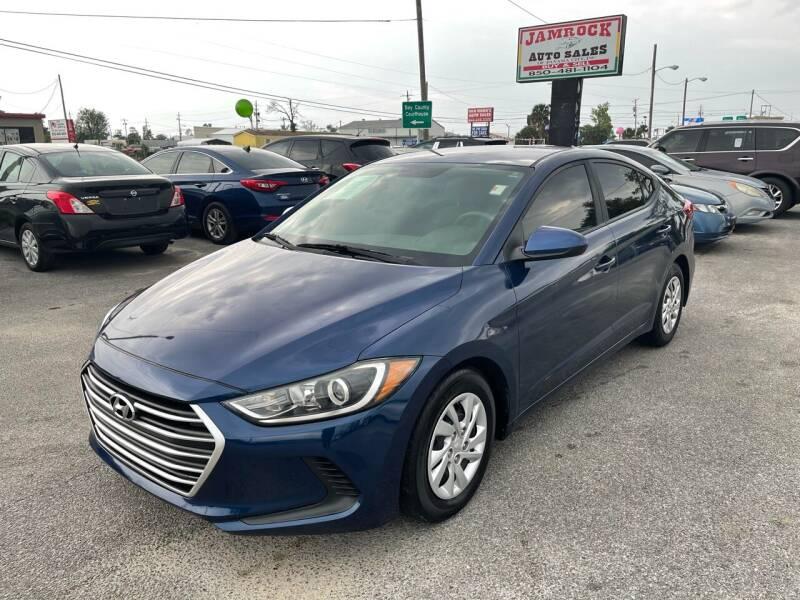 2017 Hyundai Elantra for sale at Jamrock Auto Sales of Panama City in Panama City FL