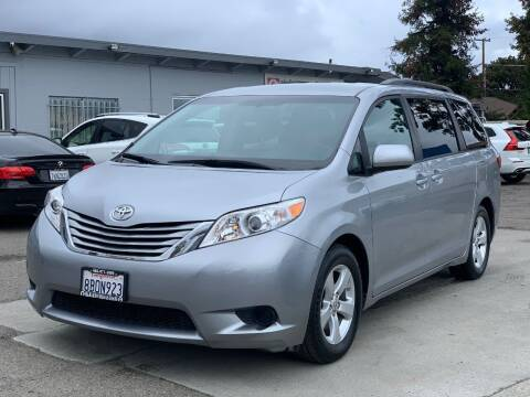2017 Toyota Sienna for sale at H & K Auto Sales & Leasing in San Jose CA