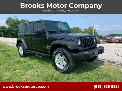 2018 Jeep Wrangler JK Unlimited for sale at Brooks Motor Company in Columbia IL
