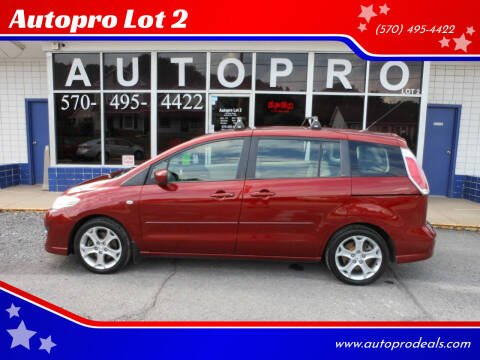 2009 Mazda MAZDA5 for sale at Autopro Lot 2 in Sunbury PA