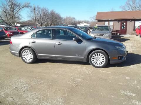 2011 Ford Fusion Hybrid for sale at BRETT SPAULDING SALES in Onawa IA