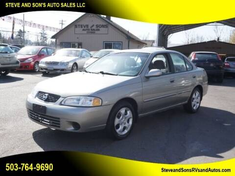 2003 Nissan Sentra for sale at Steve & Sons Auto Sales in Happy Valley OR