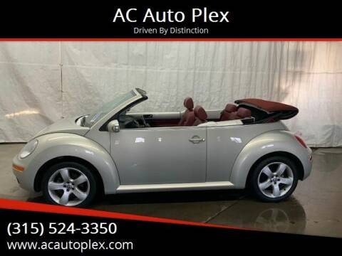 2009 Volkswagen New Beetle Convertible for sale at AC Auto Plex in Ontario NY