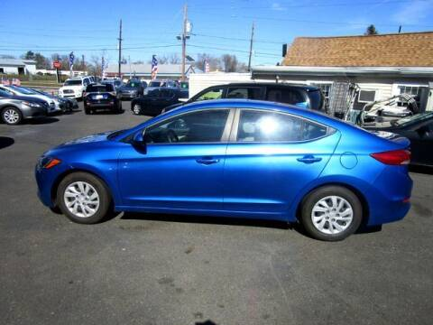2017 Hyundai Elantra for sale at American Auto Group Now in Maple Shade NJ