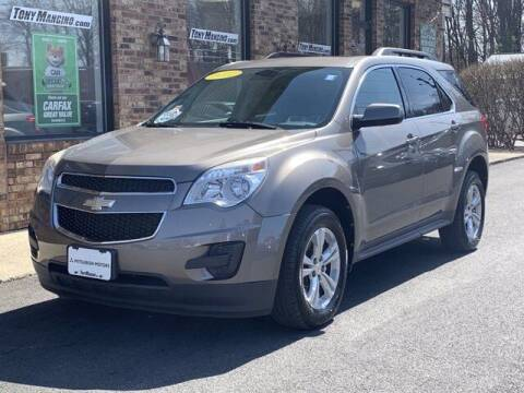 2012 Chevrolet Equinox for sale at The King of Credit in Clifton Park NY