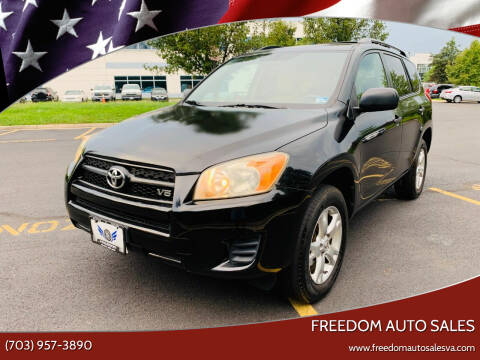 2009 Toyota RAV4 for sale at Freedom Auto Sales in Chantilly VA