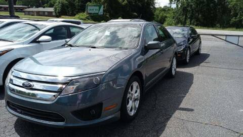 2012 Ford Fusion for sale at IDEAL IMPORTS WEST in Rock Hill SC