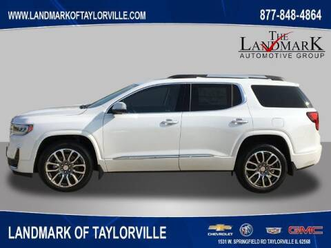 2020 GMC Acadia for sale at LANDMARK OF TAYLORVILLE in Taylorville IL