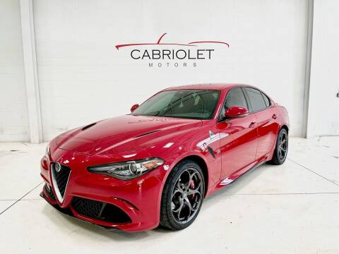 2019 Alfa Romeo Giulia Quadrifoglio for sale at Cabriolet Motors in Morrisville NC
