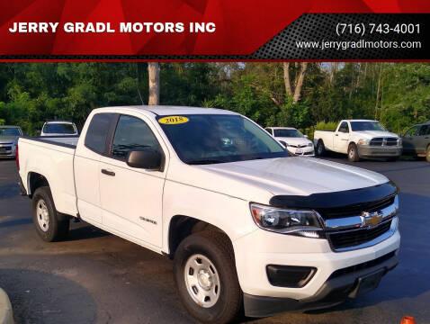 2018 Chevrolet Colorado for sale at JERRY GRADL MOTORS INC in North Tonawanda NY