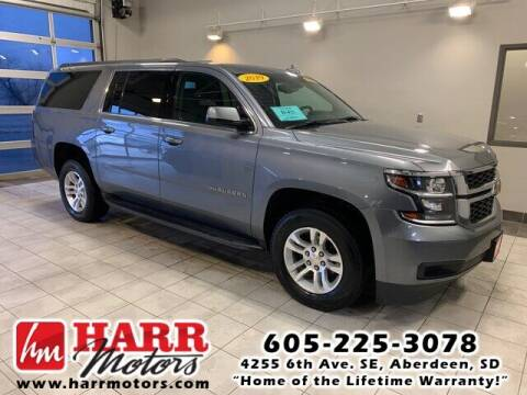 2019 Chevrolet Suburban for sale at Harr Motors Bargain Center in Aberdeen SD