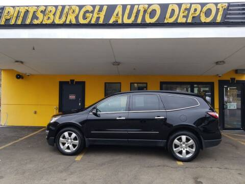 2017 Chevrolet Traverse for sale at Pittsburgh Auto Depot in Pittsburgh PA