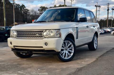 2008 Land Rover Range Rover for sale at Marietta Auto Mall Center in Marietta GA