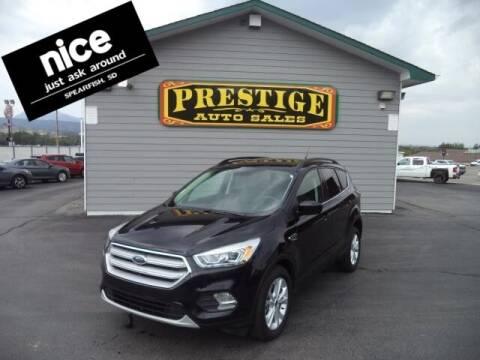 2019 Ford Escape for sale at PRESTIGE AUTO SALES in Spearfish SD