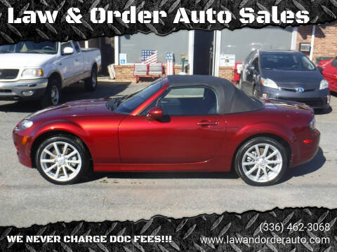 2008 Mazda MX-5 Miata for sale at Law & Order Auto Sales in Pilot Mountain NC