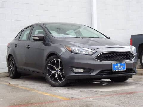 2018 Ford Focus for sale at Joe Myers Toyota PreOwned in Houston TX