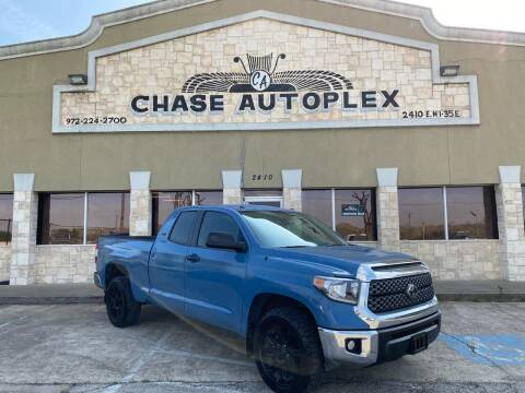 2019 Toyota Tundra for sale at CHASE AUTOPLEX in Lancaster TX