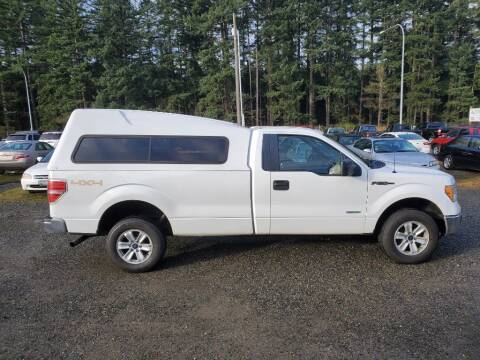 2012 Ford F-150 for sale at WILSON MOTORS in Spanaway WA