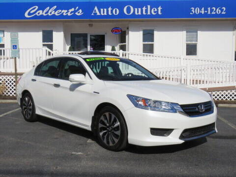 2015 Honda Accord Hybrid for sale at Colbert's Auto Outlet in Hickory NC