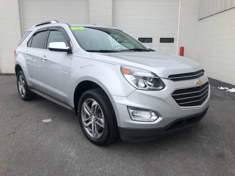 2016 Chevrolet Equinox for sale at Zimmerman's Automotive in Mechanicsburg PA