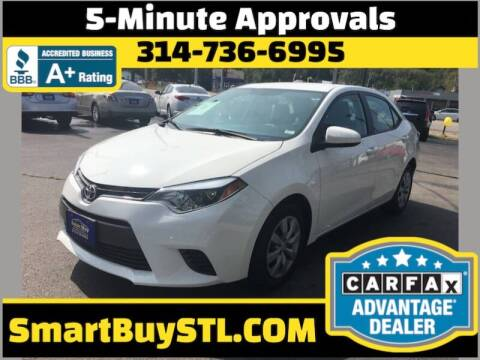 2016 Toyota Corolla for sale at Smart Buy Car Sales in St. Louis MO